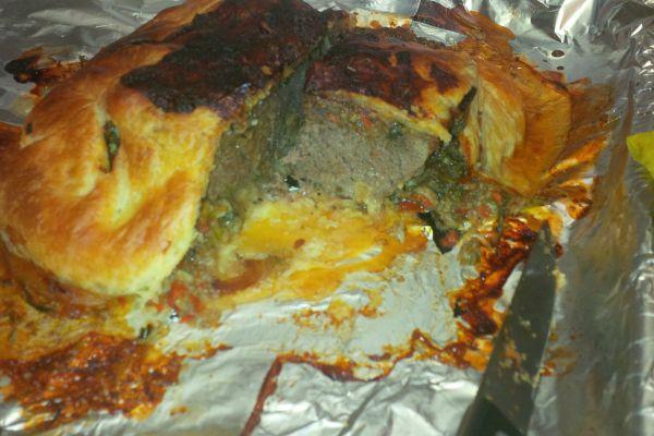 Recette pain de viande en croûte feuilletée
