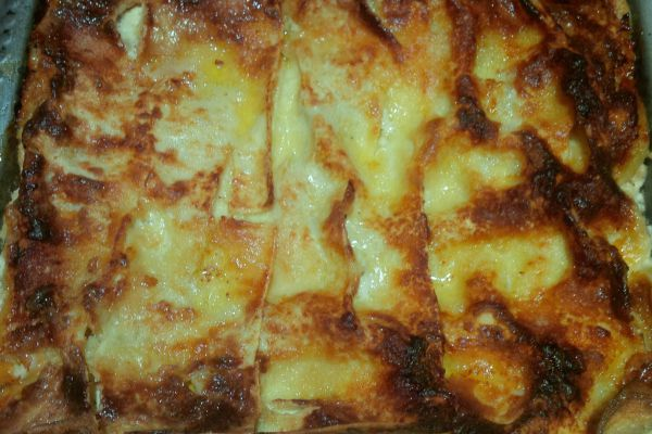 lasagnes aux épinards-ricotta