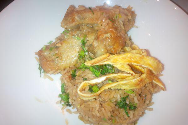 Recette riz sauté au poulet