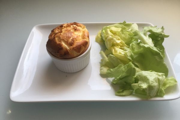 Recette SOUFFLE FROMAGE RAPIDE