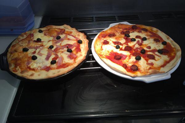 Recette PATE A PIZZA (RECETTE PIZZA )