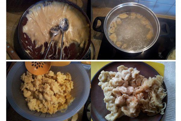 Recette Gnocchis de farine (mehl knepfle)