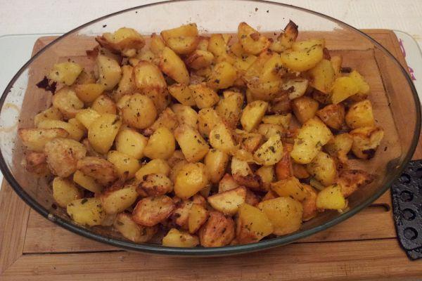 Recette racourci : Pommes de terre fondantes(façon Jamie)