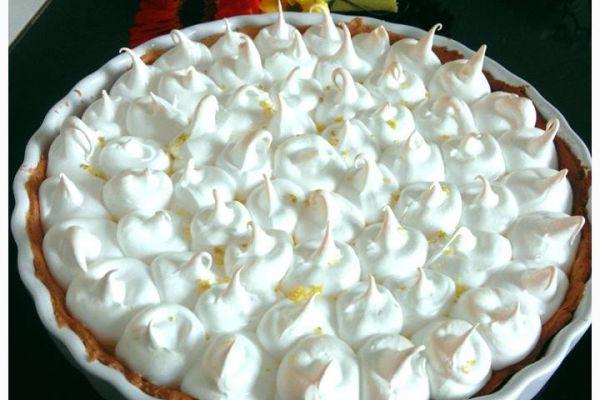 La fameuse tarte au citron meringuée