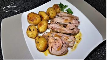 Recette Souris d'agneau au four et ses pommes de terre grenaille