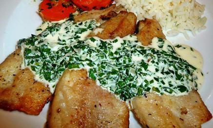 Recette Sauce aux herbes pour accompagner les poissons