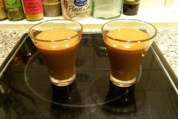 Recette Panacotta chocolat et son caramel au beurre salé