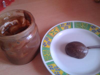 Recette Pâte à tartiner choco-caramel