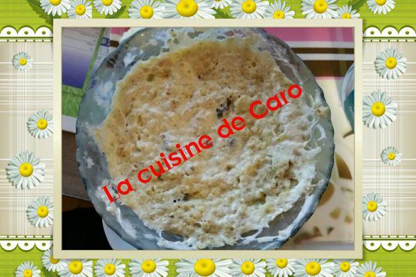 Recette bowlcake raisins secs/banane