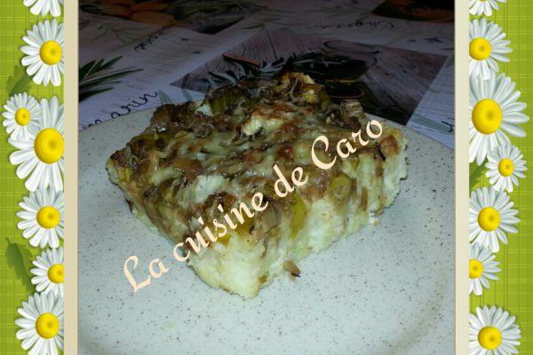 Recette Brandade de poisson sur son lit de fondue de poireau