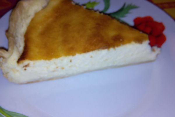 Le käsekuchen ou tarte au fromage blanc