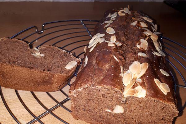 Recette Cake choco banane sans sucre ajouté