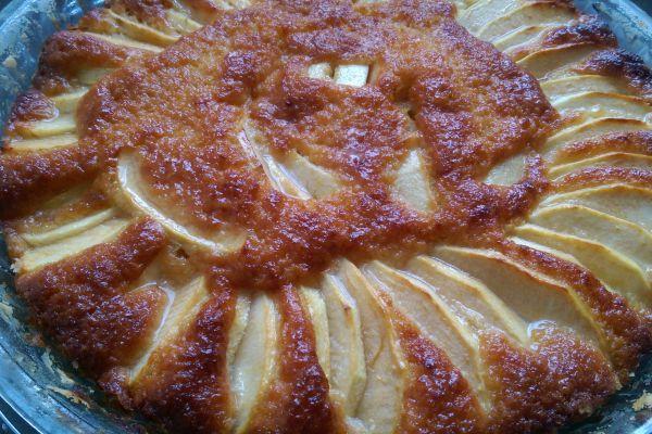 Recette Tarte aux pomme façon cake