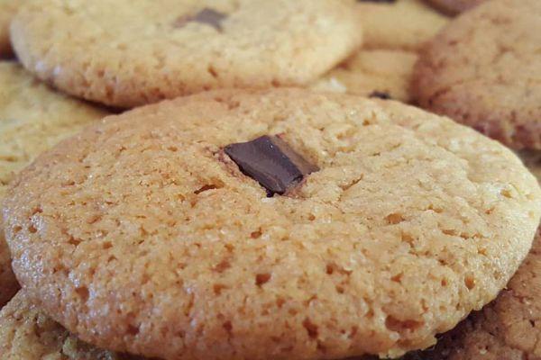 Cookies au caramel au beurre salé et pépites de chocolat