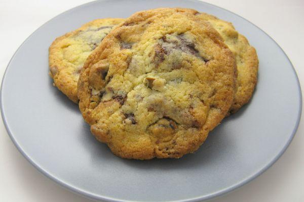 Cookies chocolat blanc-pistache