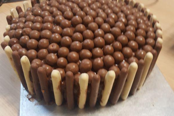Recette Gâteau damier