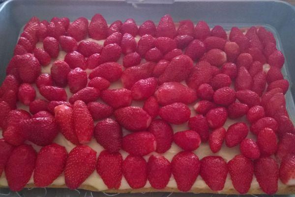 tarte folle fraises (cook in)