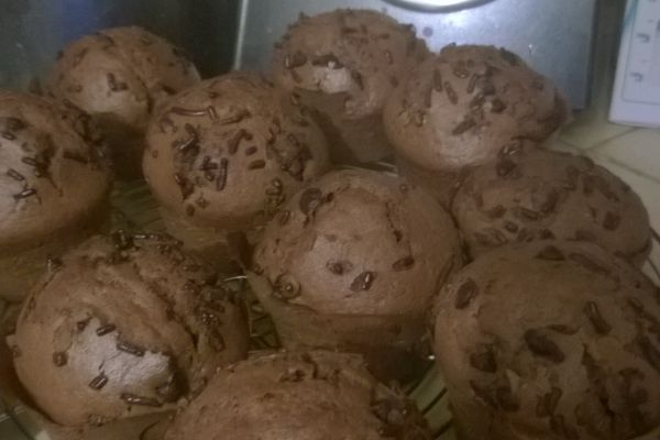 Muffins chocolats (cook in)