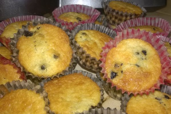 petits muffins myrtilles (cook in)