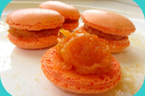 Recette Macarons potiron et miel