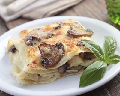 Recette Lasagnes aux champignons
