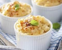 Croziflette au jambon, reblochon et thym