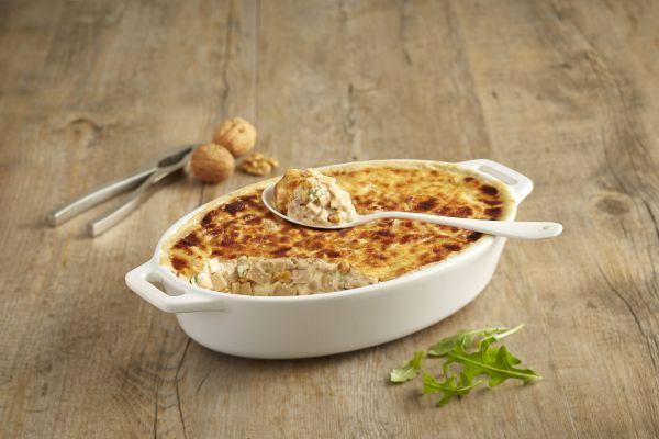 Recette Croziflette au gorgonzola / noix