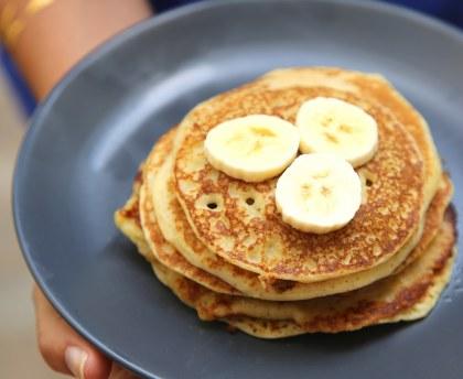 Recette Pancake à la banane express