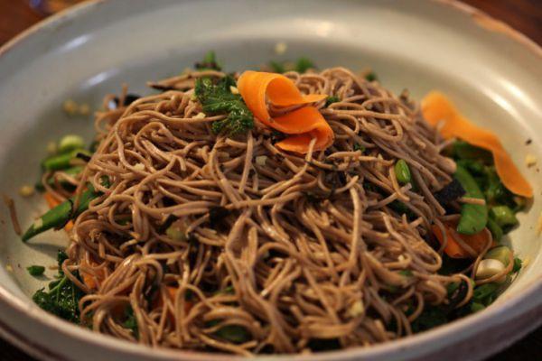 Recette Salade aux nouilles soba par Gordon Ramsay