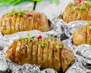 Recette Pommes de terre à la suédoise au barbecue