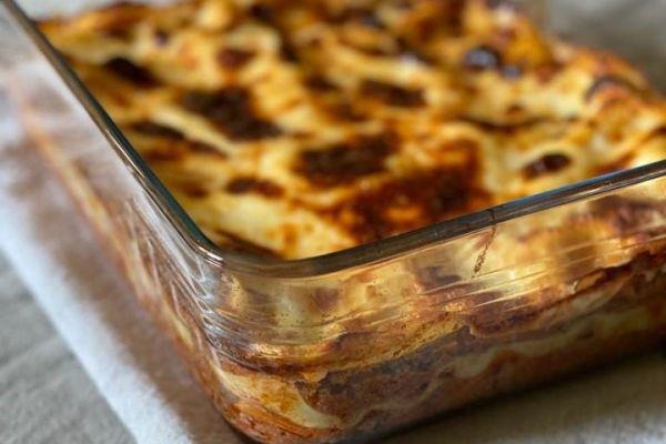 Lasagnes à la bolognaise de Cyril Lignac