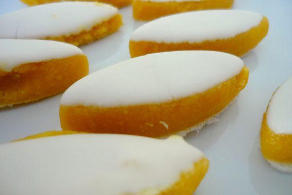Recette  Calissons orange cardamome