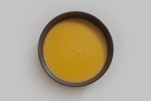 Recette Velouté au potimarron, curry vert et lait de coco