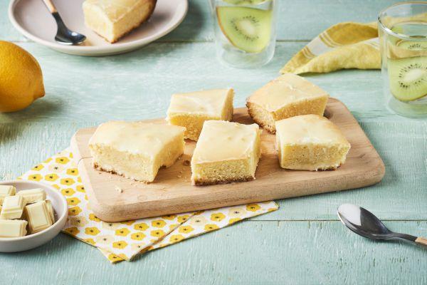Recette Lemon brownie au chocolat blanc et zestes de citrons