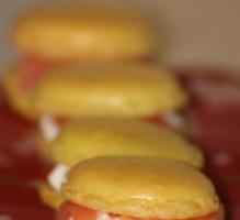 Recette Macarons au saumon fumé