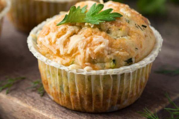 Recette Muffin ricotta pesto