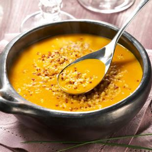 Soupe de potimarron au quinoa