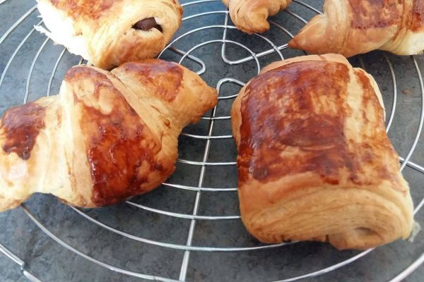Recette Croissants ou pains choco?