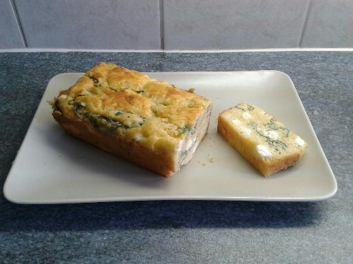 Recette Cake feta basilic