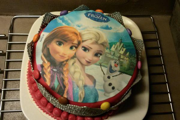 Recette gâteau d'anniversaire reine des neiges