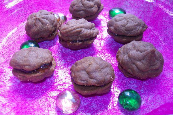 Recette Sablés au chocolat fourrés