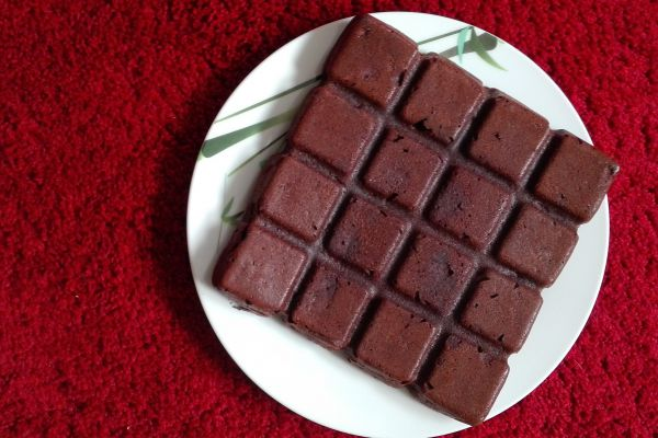 Brownies sans beurre ni sucre
