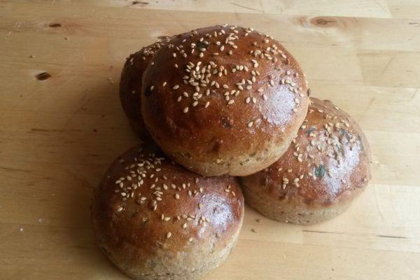 Recette pains à burgers