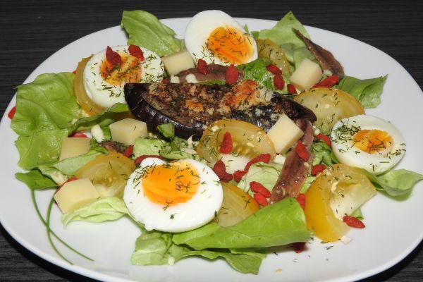 Recette salade sans féculent