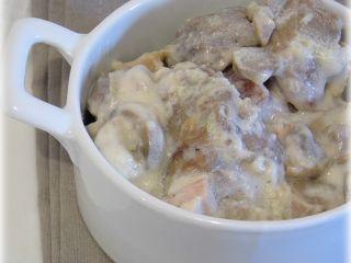 sautée de porc à la crème et aux champignons