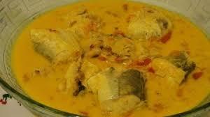 Recette poisson au lait de coco et curry (mayotte)