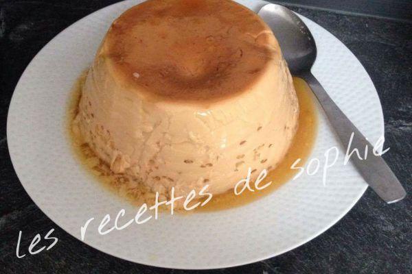 Recette Crème aux oeufs renversée au caramel