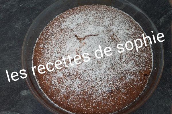 Recette Gâteau yaourt aux poires