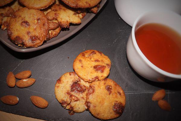 Recette Biscuits Sablés aux Amandes Caramélisées