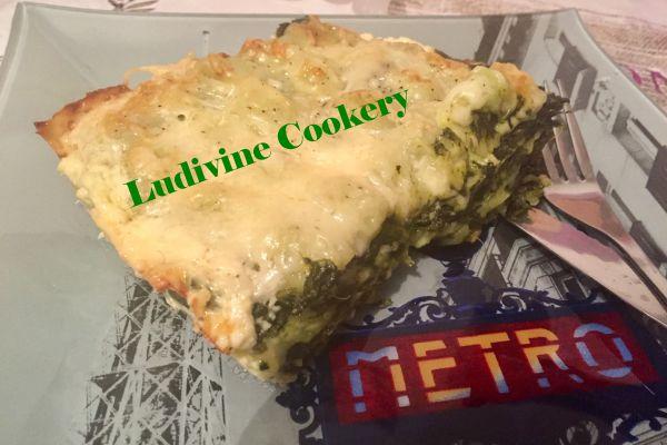 Recette Lasagnes du Dauphiné aux épinards